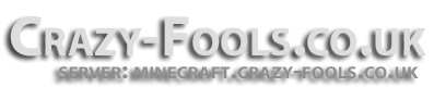 Crazy Fools UK (CFUK) Minecraft Server